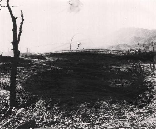 """ARNULF RAINER  """"Hiroshima"""", 1982, courtesy dell'artista e Eidos Immagini Contemporanee, Asti"""