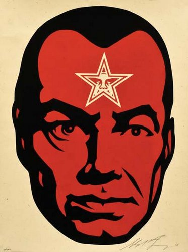 Shepard Fairey (Obey), BIG BROTHER 2, 2001