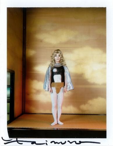 Yasumasa Morimura, Autoritratto, tra 1995 e 1996, color Polaroid, Pezzo unico firmato dall'artista @Galleria Doozo